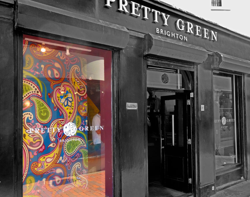 Pretty Green: Custom Wall Art