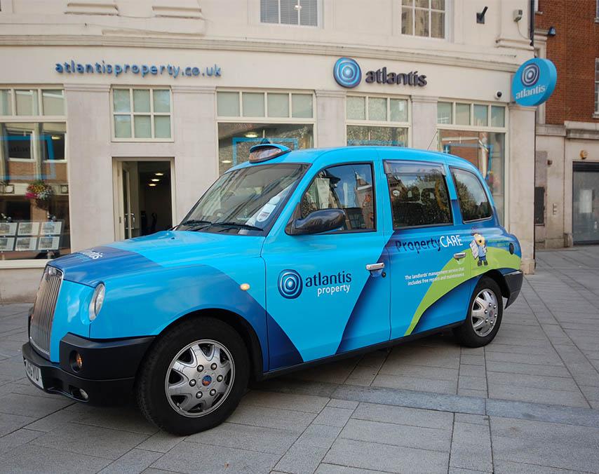 atlantis Taxi wrap