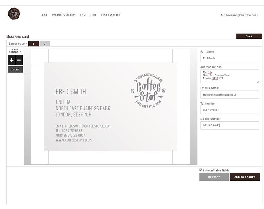 Web to Print – Brand Centurion